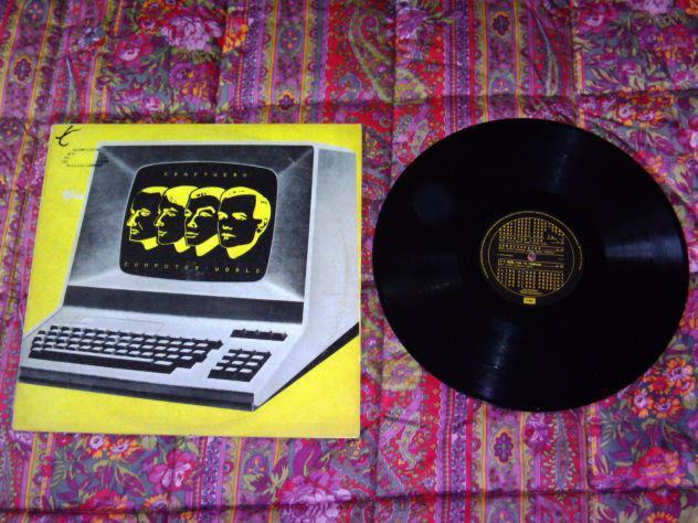 Kraftwerk - computer world lp 33 giri