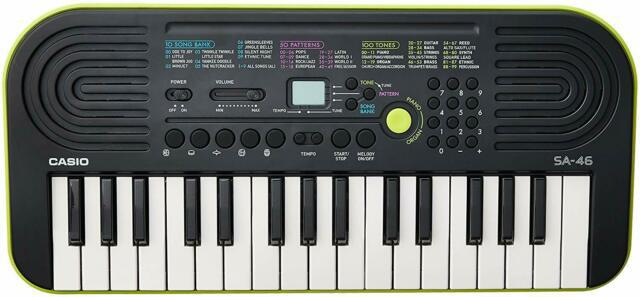 """Mini tastiera elettronica """"casio sa-46"""""""