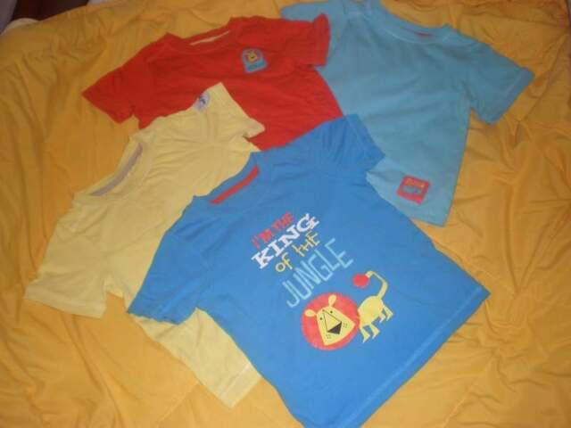 Quatro magliette mothercare
