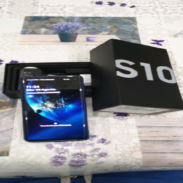 Samsung s10 come nuovo 128 gb bianco