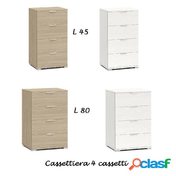 Cassettiera 4c basic