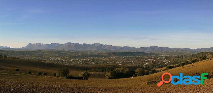 Nuova Villa indipendente panoramica Sibillini