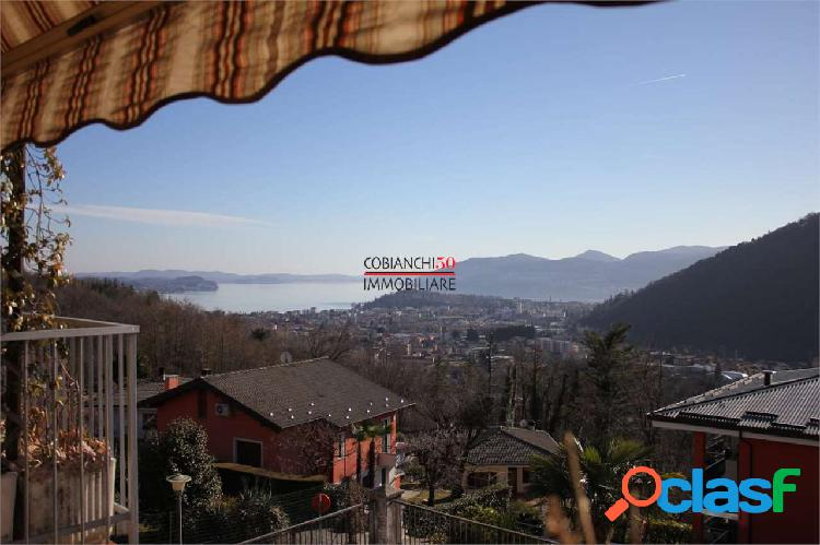 Vignone, trilocale con eccezionale vista lago