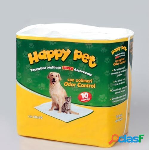 Eurofil tappetini igienici assorbenti per cani happy pet cm 60 x...