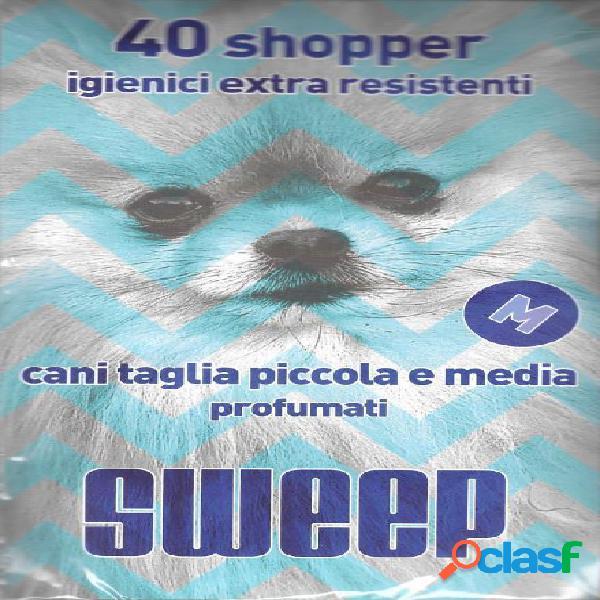 Sweep shopper sacchetti igienici profumati taglia piccola 40 pezzi