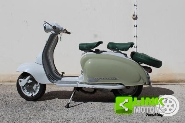 Lambretta 125 li 1961 restaurata - targa oro fmi asi