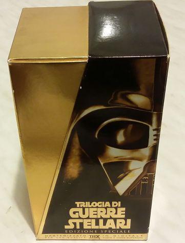 Star wars trilogia edizione speciale serie oro in vhs nuovo