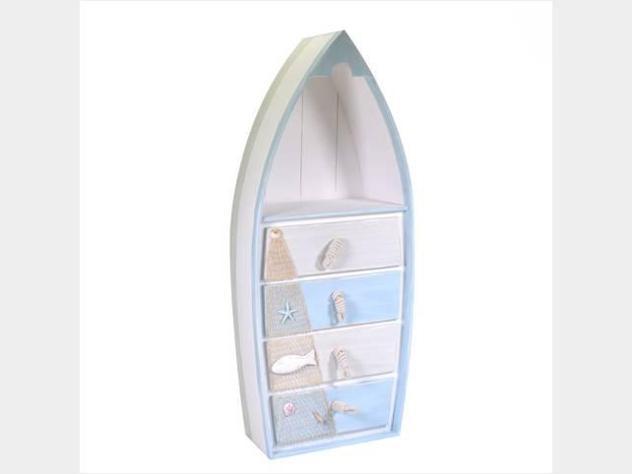 Cassettiera mare legno barca nuova art.5116560000