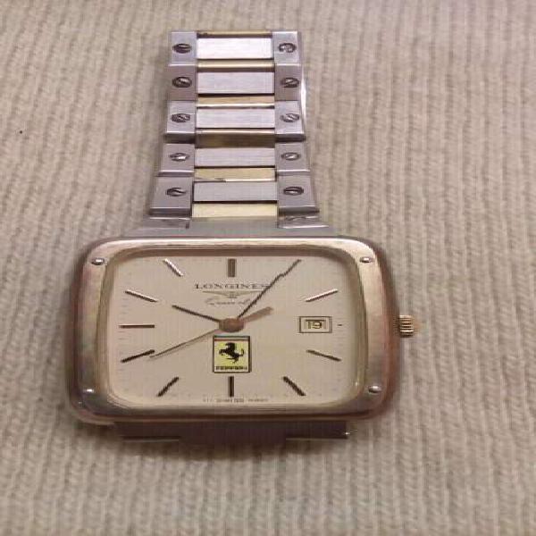 Longines ferrari orologio acciaio oro usato