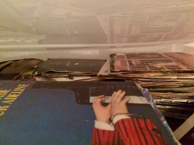 Lotto dischi (31 pezzi) 33 giri e mix