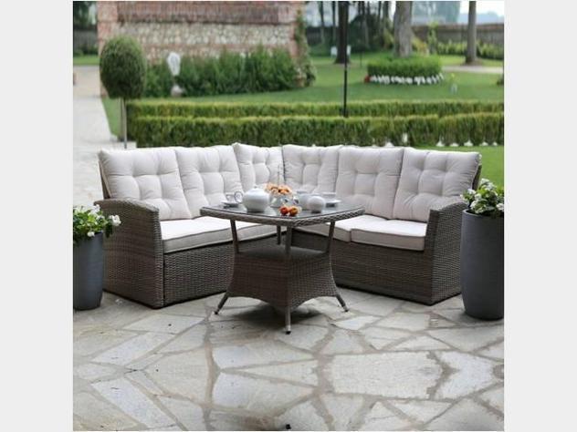 Salotto divano da giardino mod. amazon
