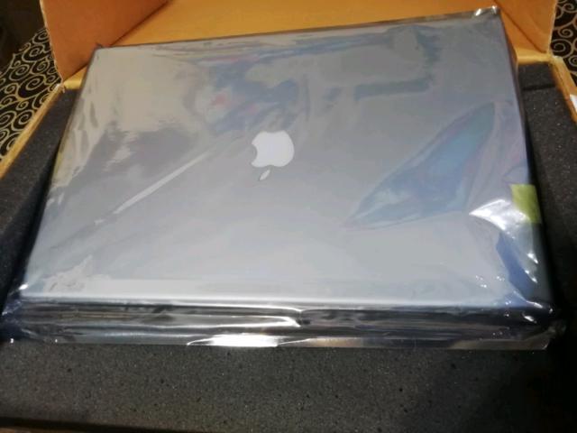 Schermo completo di display e case apple powerbook g4 17
