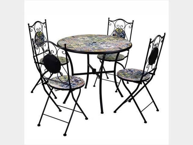 Tavolo mosaico tondo nuovo art.6452270000