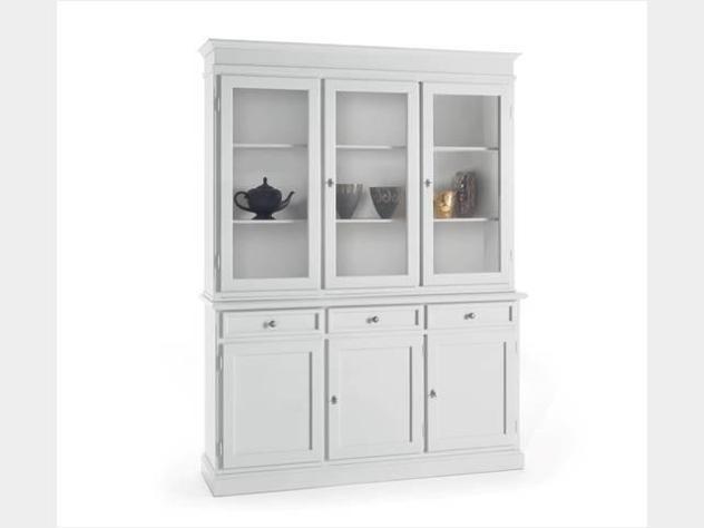 Vetrina bianca nuova art. 6037a-6036a