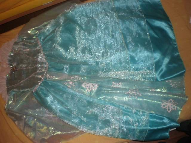 Vestito elsa frozen deluxe 9-10 anni, disney store