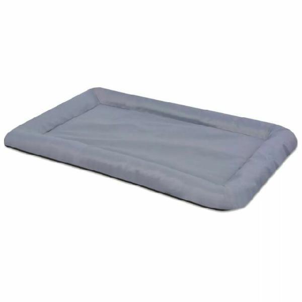 Vidaxl materasso per cani taglia l grigio