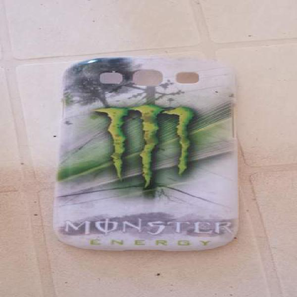 Cover rigida monster per samsung galaxy s3