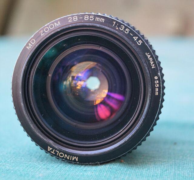 Obiettivo minolta md zoom 28-85mm/3.5-4.5