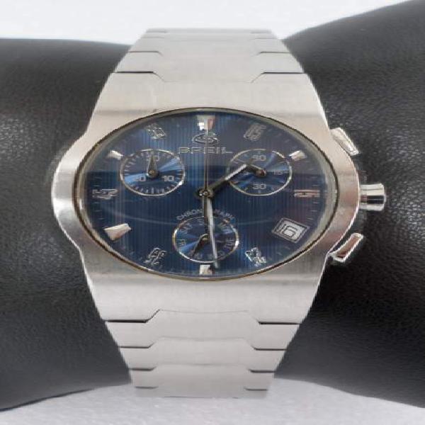 Orologio cronografo breil one crono in acciaio