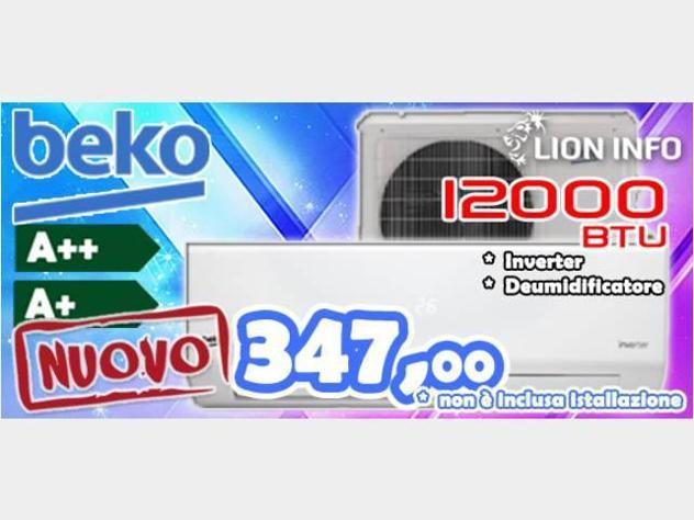 Condizionatore inverter a++ beko 1200btu