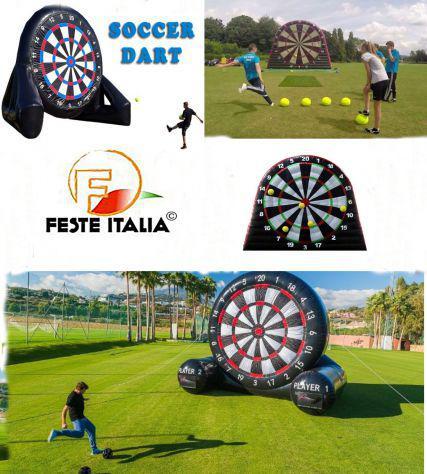 Foot darts soccer darts ferrara