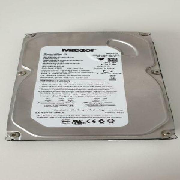 Hard disk interno maxtor 80gb sata srm380211as