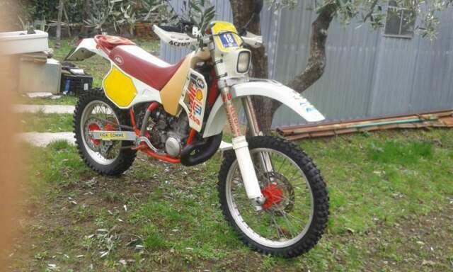 Moto ktm gs 250 anno 1989
