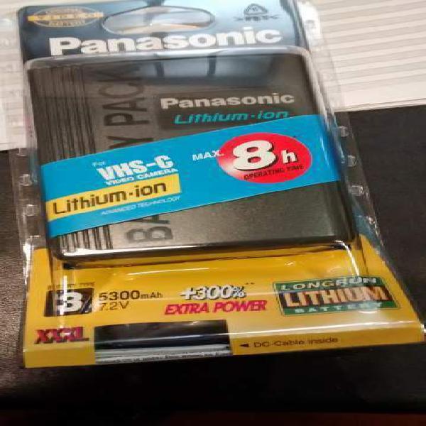 Panasonic cgr-d815 batteria originale per videocamera