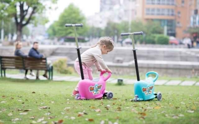 Ride on snoop 3 in 1 bambino nuovo