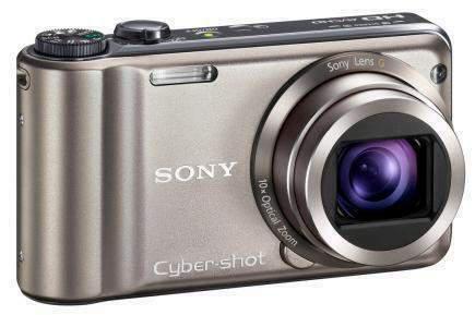 Sony cyber-shot dsc-hx5v 10,2 mp + 8gb + astuccio