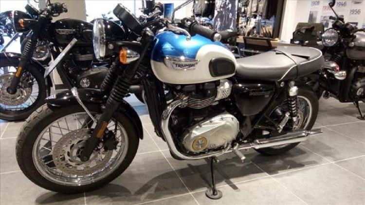 Triumph Bonneville T100 (2017 - 19) nuova a Genova