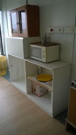 Mobiletti e attrezzature per cucinotto ufficio