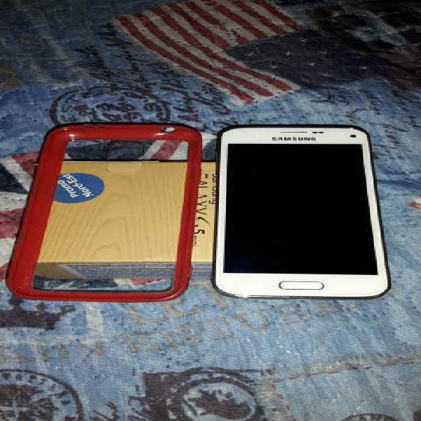2 cellulari samsung s5 mini bianchi custodia