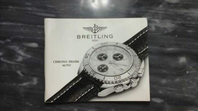 Breitling libretti istruzioni rari