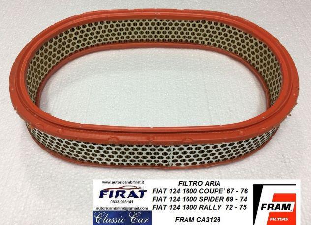 Filtro aria fiat 124 coupe' spider