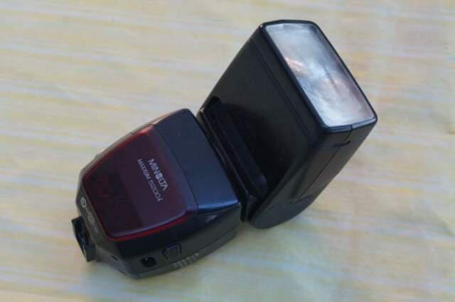 Flash minolta maxxum 5200i per dynax