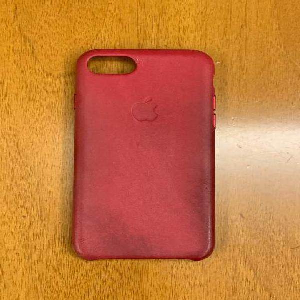 Iphone 6s, 7, 8 cover originale pelle lampone