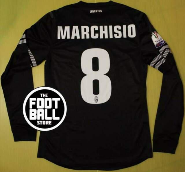 Maglia juventus marchisio tim cup 2013-14 match issued