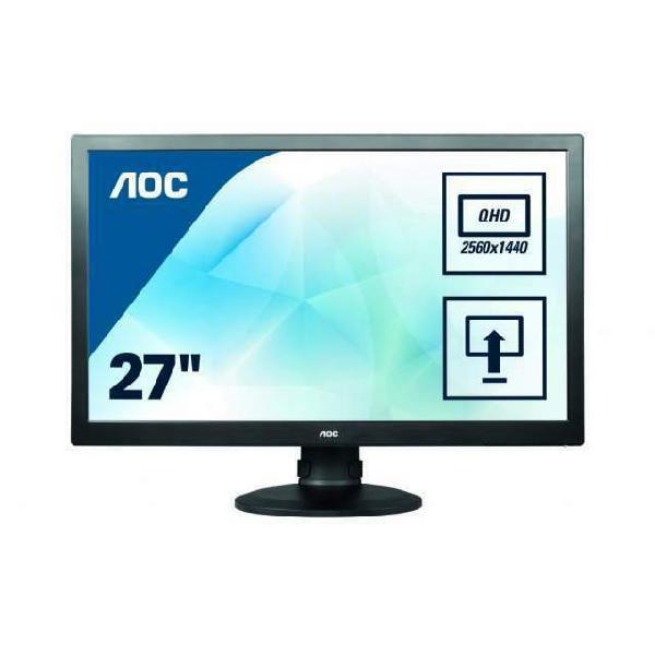 """Monitor aoc q2770pqu 27"""" super pls wqhd 2560x1440"""