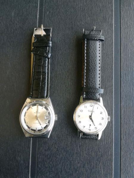 Orologi meccanici perfettamente funzionanti