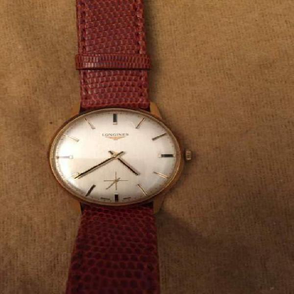 Orologio longines cassa oro anni '60