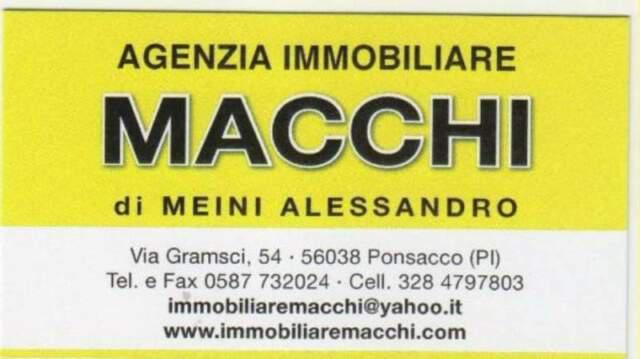 Ponsacco- capannone mq 270 + resede