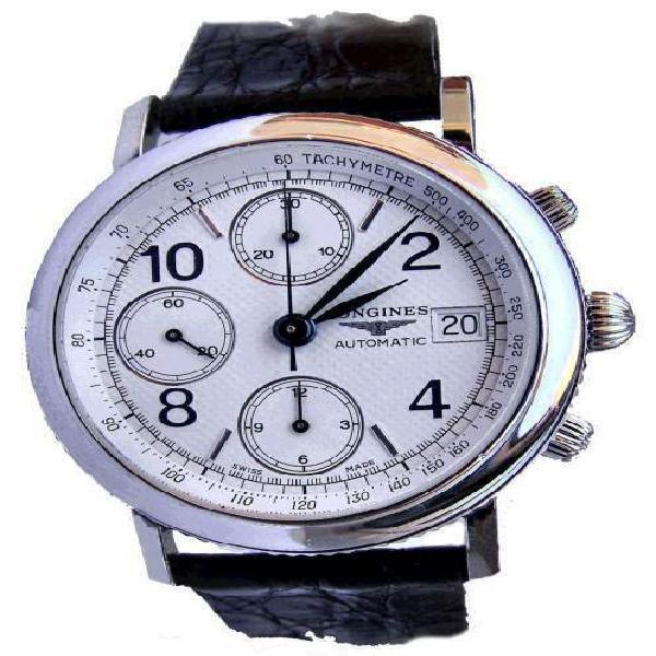 Raro longines ernest francillon chronographe –