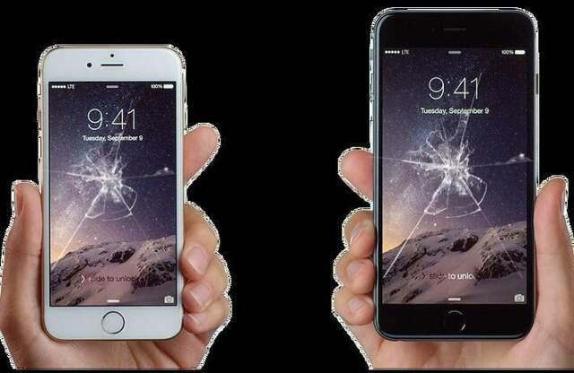 Riparazione vetri iphone e ipad air.