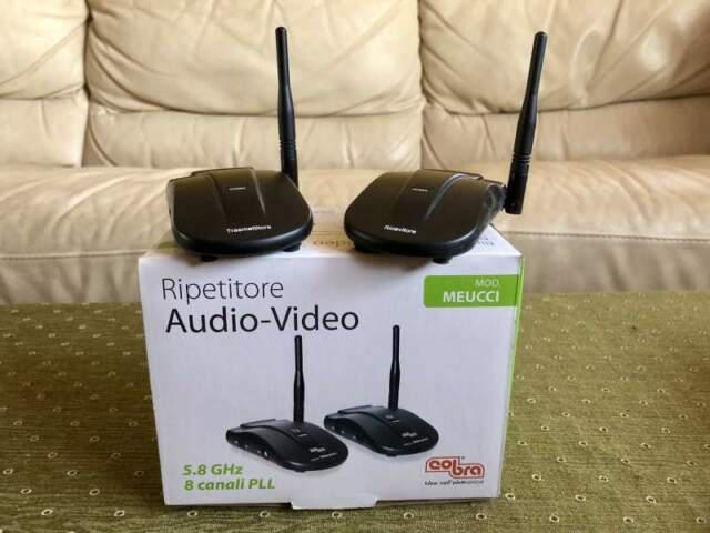 Ripetitori a/v wireless cobra mod. meucci