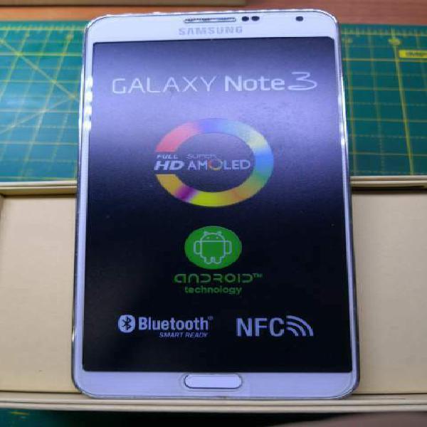 Samsung galaxy note 3 n9005 bianco perfetto