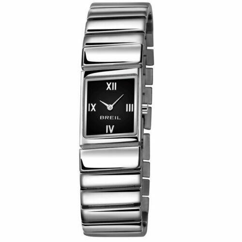 Breil orologio donna slash in acciaio quadrante nero tw1241