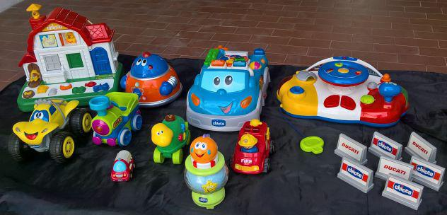 Chicco lotto 10 giochi giocattoli educativi interattivi