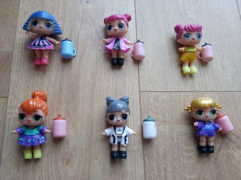 Set lol bambole giocattolo nuove