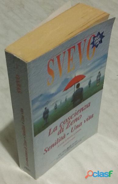 La coscienza di zeno senilita' una vita di italo svevo ed.newton 1997 come nuovo